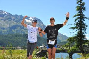 Tina & Thomas Schmid - Engadiner Sommerlauf 2014
