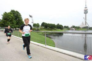 Nina Pöllmann - 24h-Lauf im Münchner Olympiapark 2014