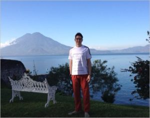 Raymond Wennier in Guatemala